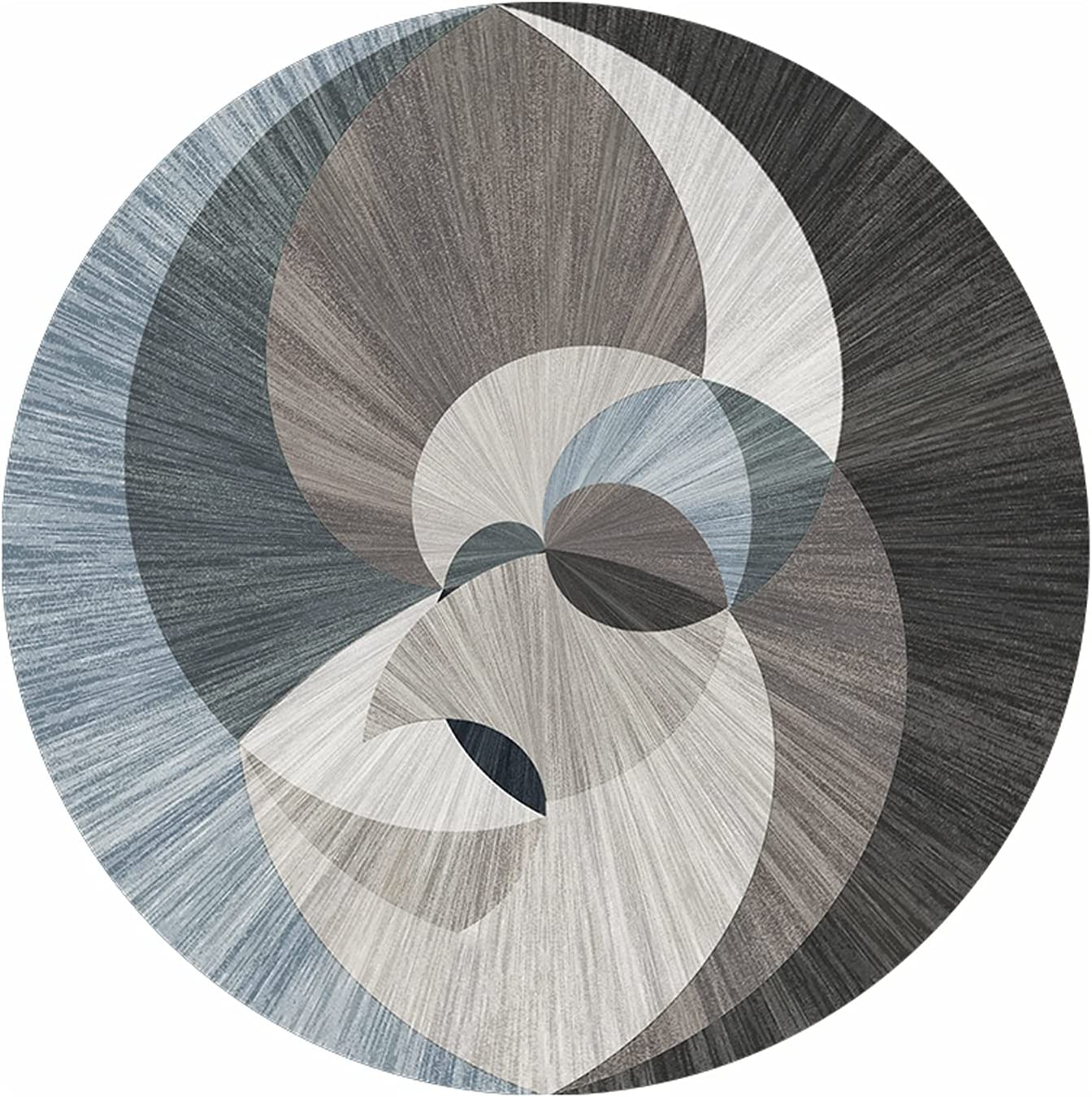 CMX-BOX Nordic Round specialty 2021 autumn and winter new shop Area Rugs Carpet for Circular Large Bedroom