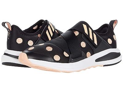 adidas Kids Fortarun X Polka Dot (Little Kid/Big Kid) (Black/Pink/White) Kid