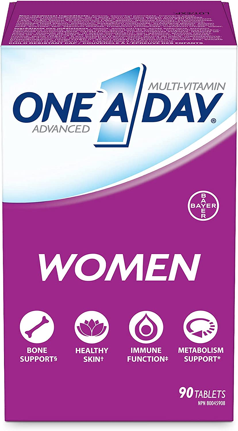 One A Day Advanced Multivitamin Super-cheap Max 71% OFF tablets women 90 for