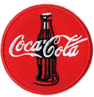 Coca Cola Coke Vintage Patch Backpack Sign Hoodie Iron on Patches Jacket Vest Hat Jeans Shirt Costume
