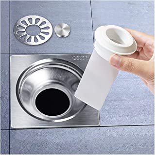 """Drain Backflow Preventer Silicone, 1-1/2"""" or 1-13/64"""" One Way Valve for 1-3/4"""" Pipes Tubes in Toilet Bathroom Floor Drain ..."""