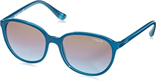 Vogue Sunglasses Mod.2939SM Petrol green/opal aqua green/Azure grad pink grad brown, 55