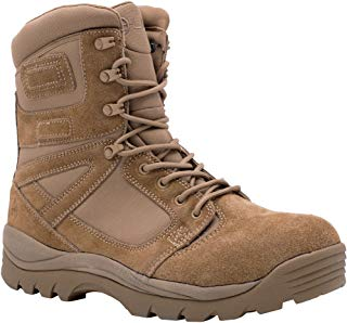 "LAPG Men's Tactical Leather AR670 Uniform/Police/Military 8"" Boot"
