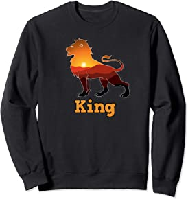African Lion King Sweatshirt
