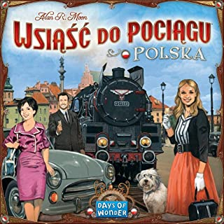 Ticket to Ride Poland - Wsi??? do poci?gu Polska - English and Polish Rules