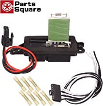 PartsSquare HVAC Blower Motor Resistor & Harness Compatible with Buick Rainier 2004-2007 Replacement for Chevy Trailblazer,GMC Envoy,Oldsmobile Bravada 02-09 Fan Resistor 89019100