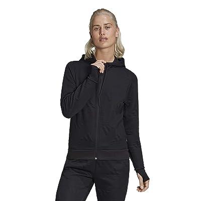 adidas Logo Jacquard Full Zip Hoodie AEROREADY