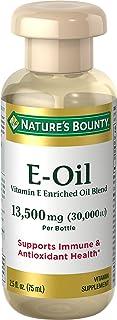 Vitamin E Oil by Nature's Bounty, Supports Immune Health & Antioxidant Health, 30,000IU Vitamin E, Topical or Oral oil, 2....