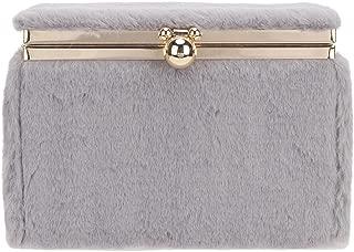 Fawziya Cute Fur Clutch Purses For Women Evening Bags And Clutches