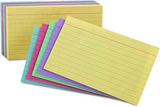 Oxford Ruled Color Cards, 5