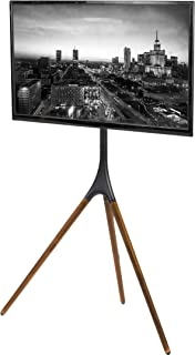 wooden tv tripod