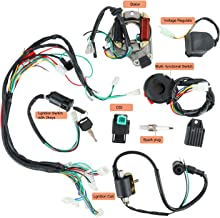 YaeGarden Complete Electrics Stator Coil CDI Wiring Harness Kit CDI Wire Assembly for 4 Stroke ATV KLX 50cc 70cc 110cc 125cc Quad Bike Buggy Go Kart