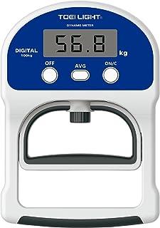 TOEI LIGHT(トーエイライト) デジタル握力計TL2 日本製 体力測定手順対応 5~100用(0,1単位) ロードセル式 T1854