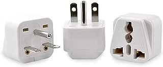 Ceptics Universal USA NEMA 5-15R to NEMA 6-15P Plug Adapter