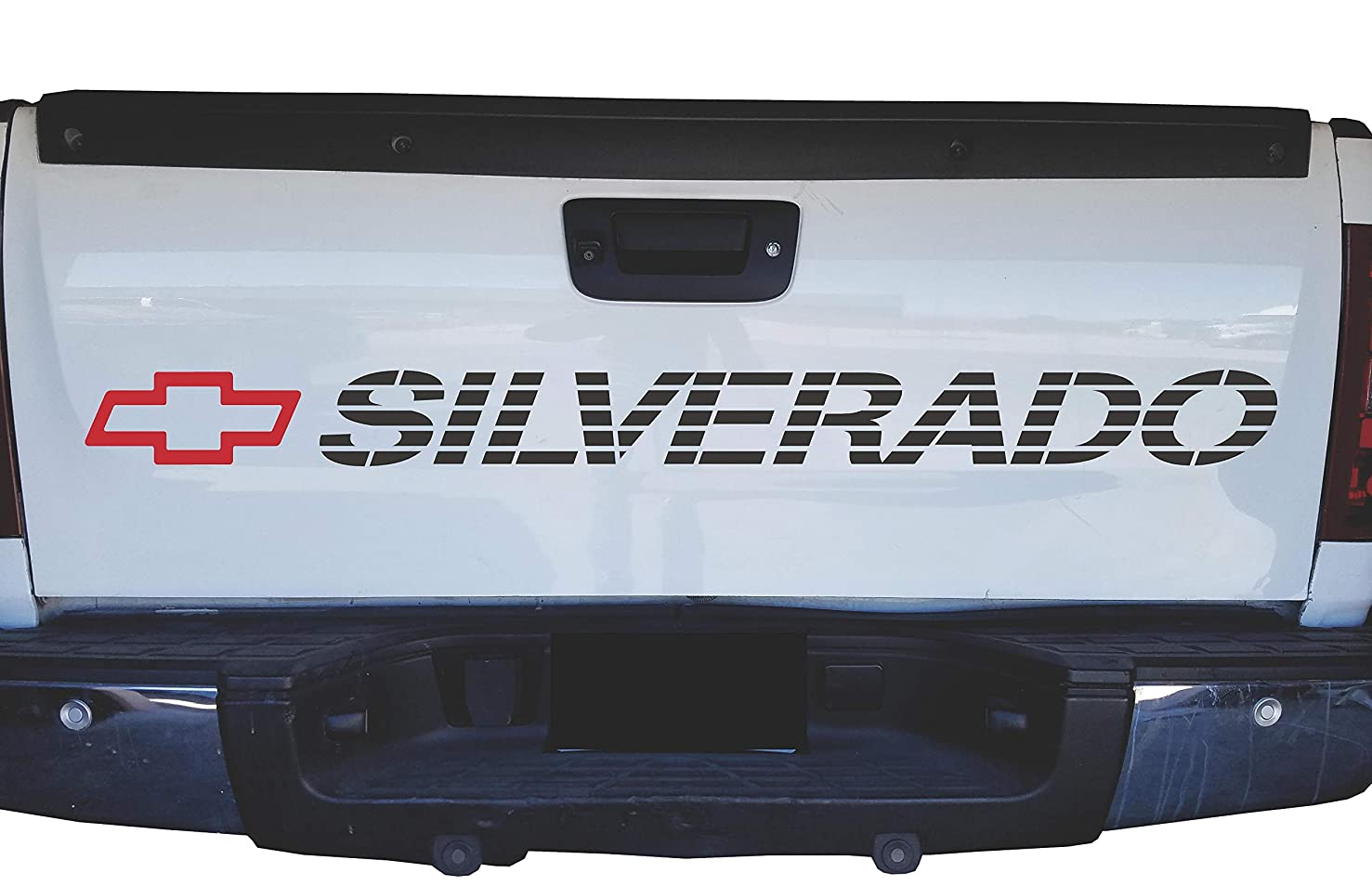 Chevrolet Silverado Bed Sticker Tailgate Decal Chevy Graphics Vinyl Lettering