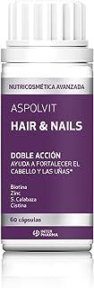 ASPOLVIT Hair&Nails - Suplemento Zinc para Fortalecer Cabello y Uñas para Hombres y Mujeres, Apto