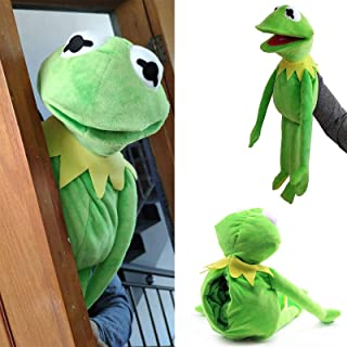 Kermit Frog Puppet Plush—23.6 inch The Muppet Show Large Kermit Frog Puppets Plush Toy Doll Stuffed,Soft Frog Puppets with...