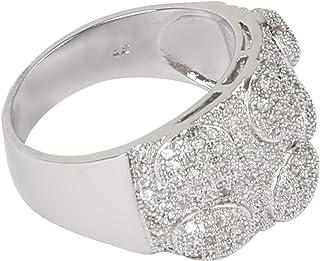 For Women, Cubic Zirconia Fashion Ring, Alloy - 8