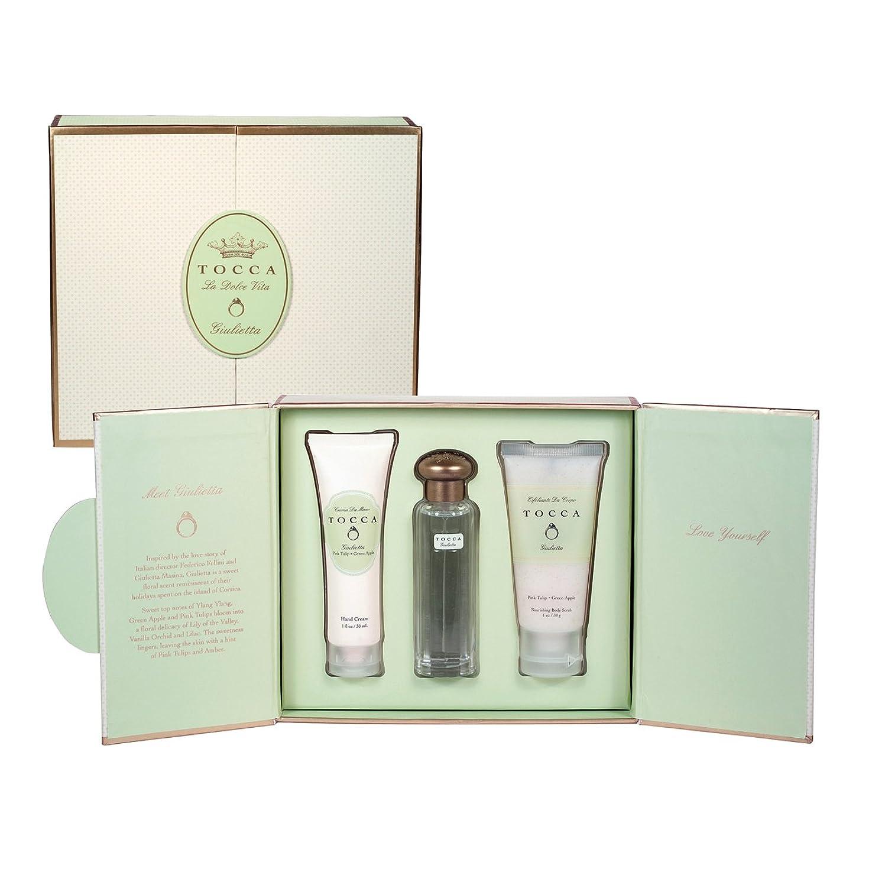 記念日非アクティブ場所トッカ(TOCCA) ドルチェヴィータコレクション ジュリエッタの香り (香水20ml、ハンドクリーム30ml、ボディーケアスクラブ30ml)