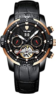Tevise Casual Watch Analog Leather Band for Men