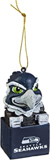 Team Sports America 3OT3827MAS Seattle Seahawks Mascot Ornament