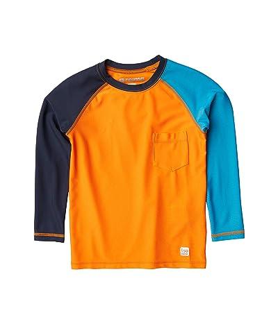 reima Swim Shirt Tioman (Toddler/Little Kids/Big Kids) (Orange) Boy