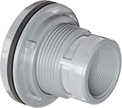 Spears 8171-C Series CPVC Bulkhead Tank Adapter, Gray, 1