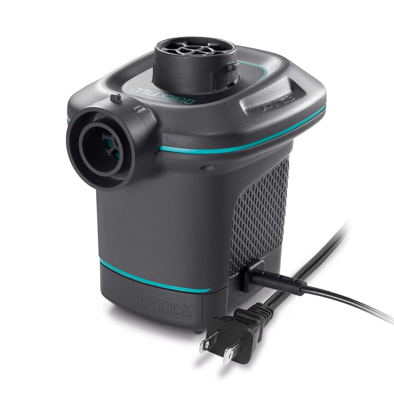 Intex Quick-Fill Ac Electric Air Pump, 110-120V, Max. Air Flow 21.2Cfm