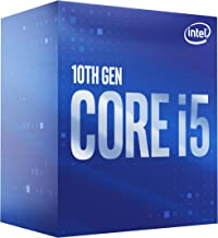 Intel Core i5-10400 Desktop Processor 6 Cores up to 4.3 GHz  LGA1200 (Intel 400 Series Chipset) 65W, Model Number: BX80701...