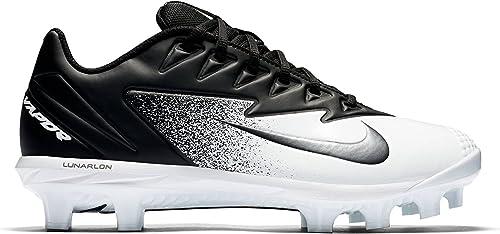 NIKE Hommes's Vapor Ultrafly Pro MCS Baseball Cleat noir Metallic argent blanc Taille 9.5 M US