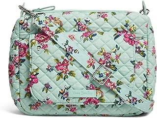 Vera Bradley Carson Mini Shoulder Bag in Water Bouquet, Signature Cotton