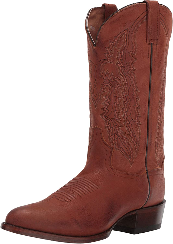 Dan Albuquerque Mall Post Ranking TOP1 Men's MenRsquo;S Miller R Western Leather Boot Ndash;