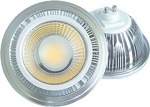 LED Light Bulbs 2 Stuks Dimming ES111 GU10 G53 230 / 120V AR111 Cob Spotlight 18W Geleid Spoor Beans Gloeilampen (Color : ...