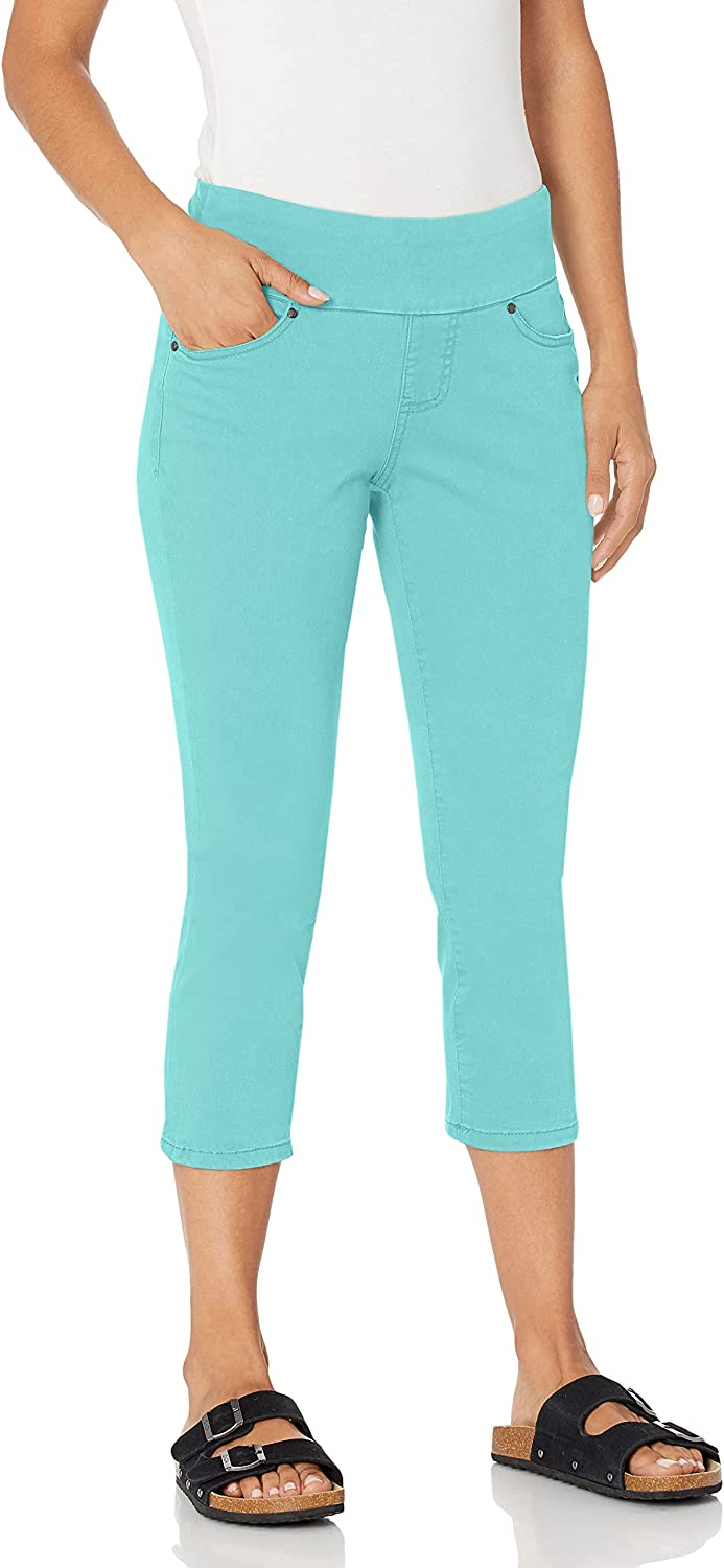 cheap Online limited product Jag Jeans Women's Petite Peri Straight Pull on Crop