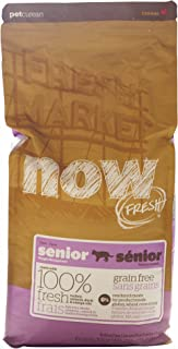 Now! 152323 Fresh Grain Free Food For Senior Cats, 8-Pound Bag