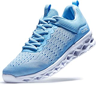 Running Shoes Women's Lightweight Road Sports Sneakers Polyester Mesh Jogging Shoe