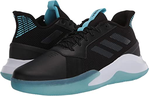 Core Black/Grey Six/Bright Cyan