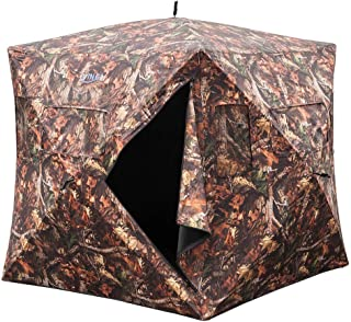"VINGLI 65""H Hunting Blind Ground Blinds,Pop Up Portable..."
