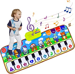 Vchiming Kids' Piano Mat, Musical Mat Piano Keyboard