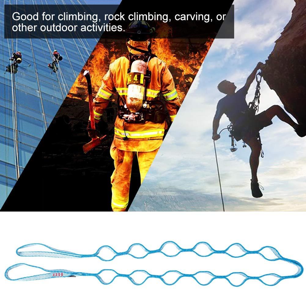 MAGT Cuerda de Escalera de Escalada, Escalera de Exterior Cuerda de Escalada Anillo de Escalada de Polietileno Cuerda de crisantemo Multifunctioanl Descenso Yoga aéreo Eslinga de Seguridad: Amazon.es: Deportes y aire libre