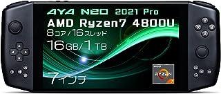 AYA NEO 2021国内正規版 Windows10搭載ポータブルゲーミングノートパソコン (PRO ダークスター(Ryzen7 4800U/16GB/1TB))
