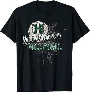 university of hawaii volleyball t shirts