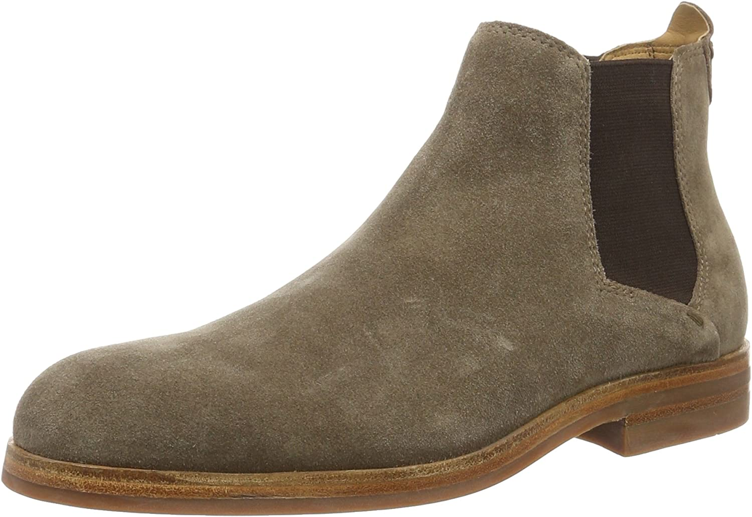 H By Hudson Mens Tonti Suede Chelsea Boot
