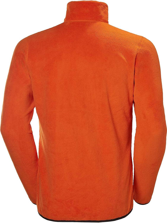 Helly-Hansen Feather Pile 3/4 Zip Sweatshirt Homme Sweatshirt Homme Bright Orange
