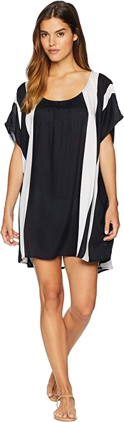 Vacay Feeling Woven Dress Cover-Up