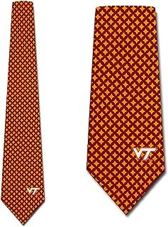 Virginia Tech Hokies Ties Mens Diamante Necktie by Eagles Wings