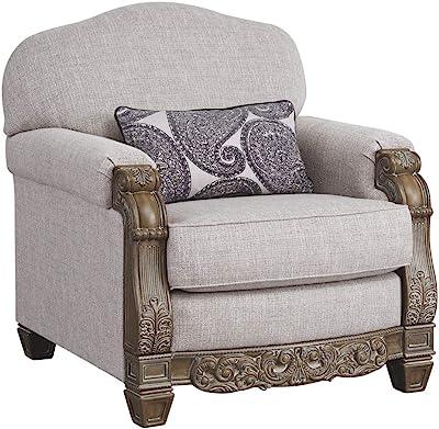 Amazon Com Dorel Living Reva Accent Chair Blue Kitchen