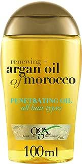 OGX Hair Oil, Renewing+ Argan Oil of Morocco, Penetrating Oil All Hair Types, 100 ml