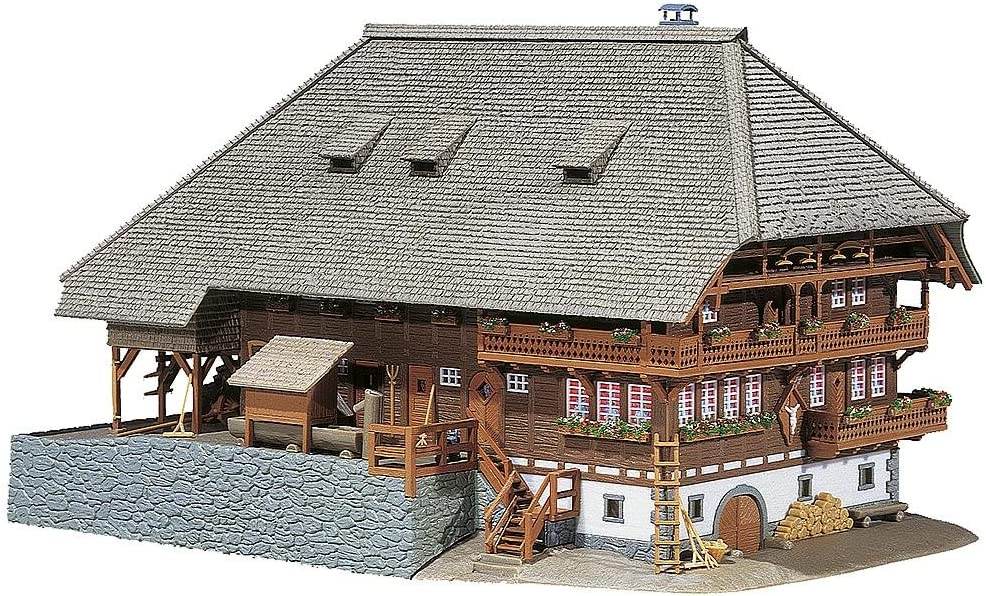 Faller 130366 Forest 5% OFF Farmyard Kit Building Max 62% OFF Scale HO