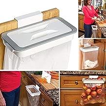Portable Hanging Trash Bag Holder for Garbage in Kitchen,Bathroom,Washbasin (Plastic)